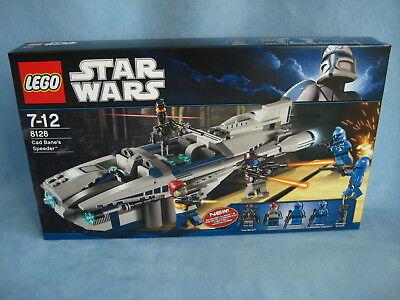 Lego StarWars Set Cad Bane's Speeder 8128 Clone Wars neu ovp