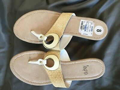 IMPO Rayna II Sandals Women's Size 8M thong wedge (s1)