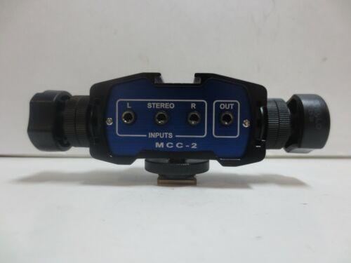 Beachtek - MCC-2 - Two-Channel Audio Adapter and Bracket