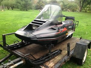 1990 Arctic Cat Panther 440 with studded track