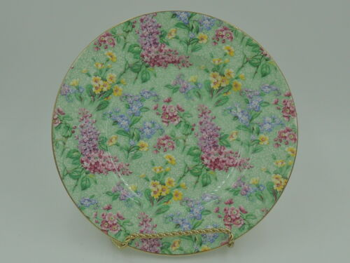 "Vintage Empire Chintz Lilac Time 7"" Tea Plate"