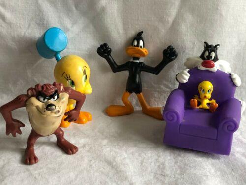 1990-2000 Looney Toons Character Lot: Daffy, Tweety, Sylvester, Tasmanian Devil