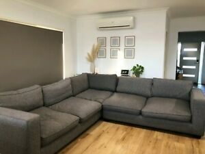 Large L shaped modular lounge.