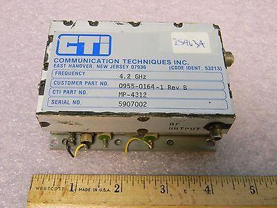 Cti Mp-4312 Sma Rf 100mhz Phase Lock Oscillator 4.2ghz 10db Output
