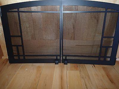Kozy Heat Fireplace Screen / Door - Mission Design #936-MDOR