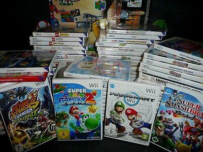 NINTENDO Wii    70 SPIELE IN OVP    GARANTIE VOM HÄNDLER   