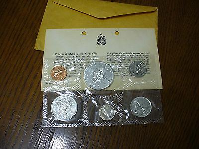 1964 CANADA PROOFLIKE SET  SILVER COINS  DOLLAR  HALF DOLLAR  QUARTER  DIME