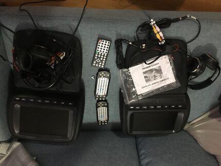 9inch headrest DVD players