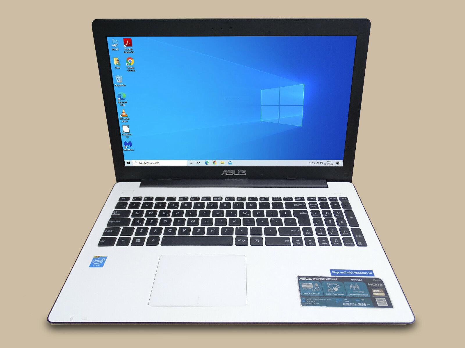 Laptop Windows - Asus X553M Windows 10 laptop, Intel Celeron N2840, 4 GB RAM