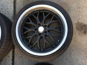 19 x 8.5 alloy mag wheels,rims,5 x 114.3,falcon,245/35/19 tyres, St Marys Penrith Area Preview