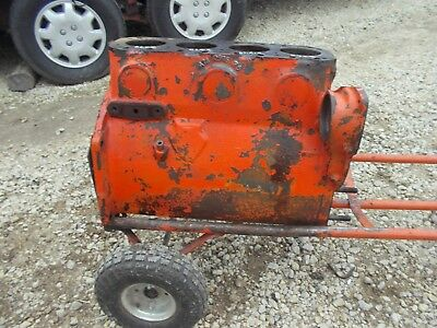Allis Chalmers B Tractor Original Ac Gas Engine Motor Block Kk