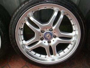 "Set Of 19"" Replica Mersedes Benz 5 Stud x 112 Pattern Only ! Green Valley Liverpool Area Preview"