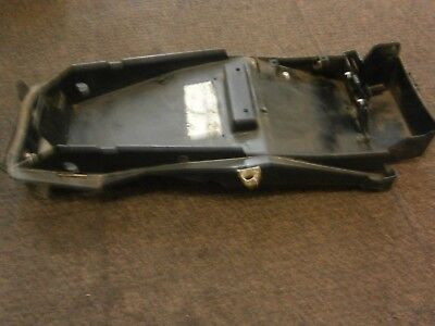 TRIUMPH SPRINT ST 955 I 2003  UNDER TRAY BATTERY BOX REAR PART OF THE