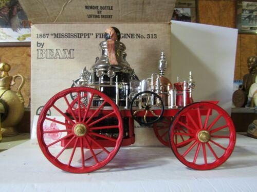 Jim Beam Missippi Pumper Fire Engine Decanter