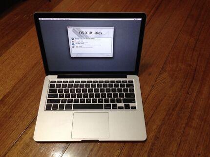 Apple MacBook Pro i7 13'3 Inch Retina Display 8G Ram & 750 Drive Fawkner Moreland Area Preview
