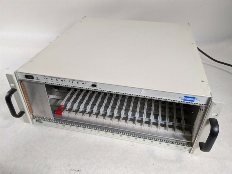 PXI CompactPCI Pickering 532-6500-F00-00 18 Slot Mainframe Module Chassis System