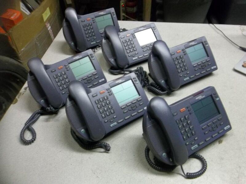 Nortel NTEX00 i2004 Business Office Internet Telephones, Lot of 6 *FREE SHIPPING