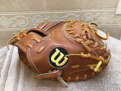 "Wilson A2000 30"" Youth Baseball Training Catchers Mitt Right Hand Throw Rare"