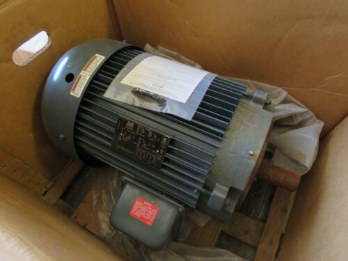 LINCOLN 15 HP ELECTRIC MOTOR 1770 RPM 254TC 230/460V EVDAF4P15TCN61B NEW