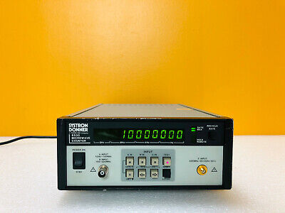 Systron Donner 6530 10 Hz To 26.5 Ghz Microwave Counter Tested