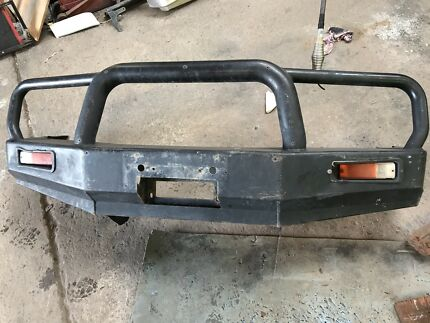 Hilux steel winch bar