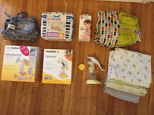 Various baby / nursing items