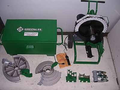 Greenlee 555 Cx Re 854 855 Conduit Pipe Bender Emt Ridgid Imc 2 Shoes 3 Rollers