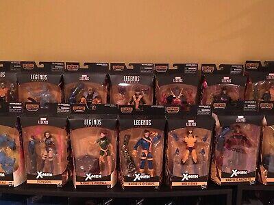 New Hasbro MARVEL LEGENDS X-MEN Lot of 19 Action Figures