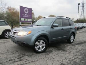 2012 Subaru FORESTER X VERY LOW ORIGINAL MILEAGE BLUE-TOOTH HEAT