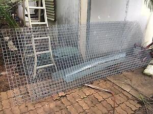 50mm square mesh - 3 pieces new and unused - $60 Knuckey Lagoon Litchfield Area Preview