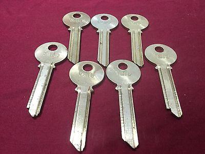 Yale Original Vd Vh Keyway 6 Pin Key Blanks Set Of 7 - Locksmith