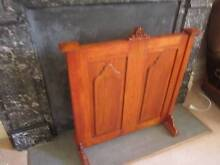 Antique Timber Fire Screen Manly Manly Area Preview