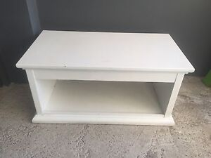 White toy or blanket cabinet Bondi Beach Eastern Suburbs Preview