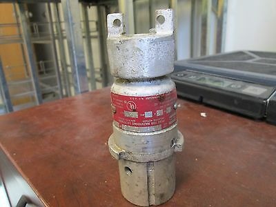Crouse-hinds Arktite Plug Cph-7713 730a 460230v 1ph 3w Open End Used