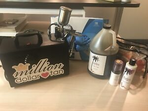 Spray Tanning equipment Start your own business for under $1000