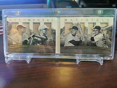 2017 NT Game-Used Bat JSY Dickey Chance Maris Berra /10 Yankees Mets Cubs
