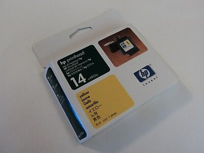 HP Printhead Yellow 14 Printer Copier Genuine/OEM c4923a