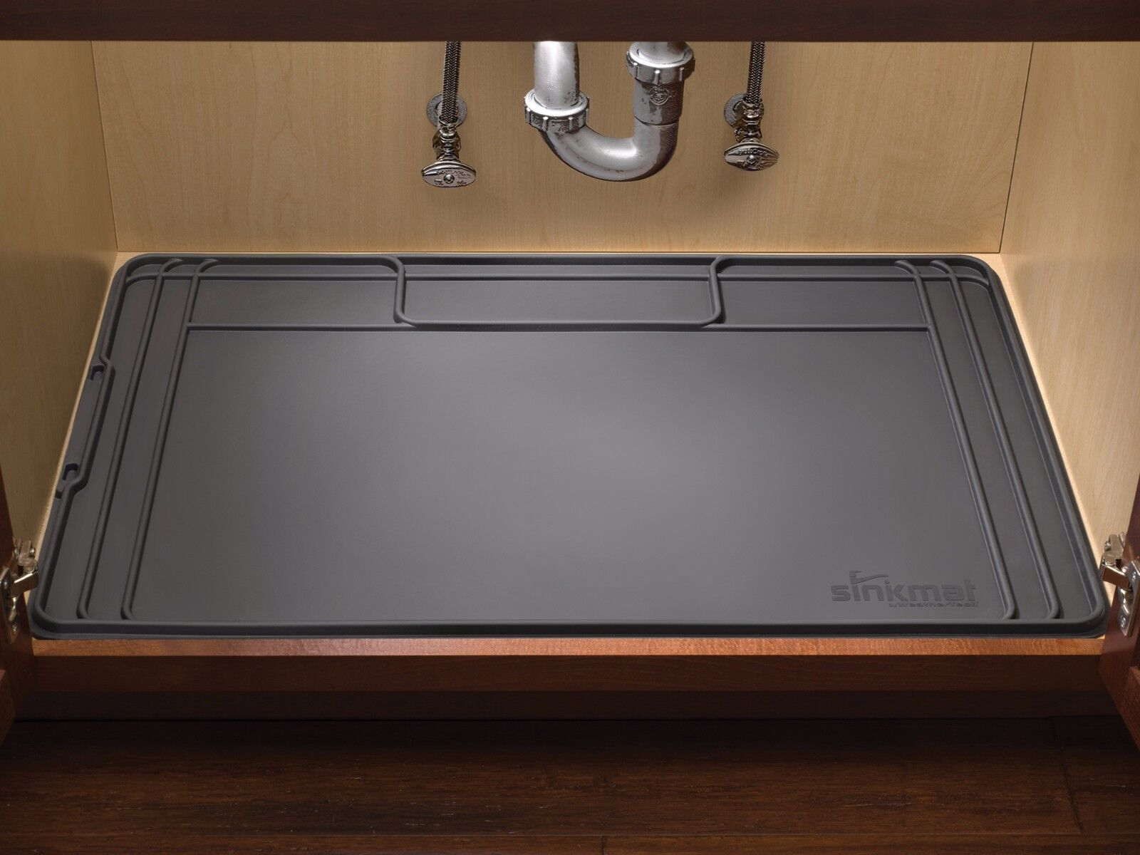 ... Mildew, And Other Damage To Your Under Sink Storage Area. The American  Made WeatherTech SinkMat Is The Best Way To Protect Your Cabinet Interiors  ...