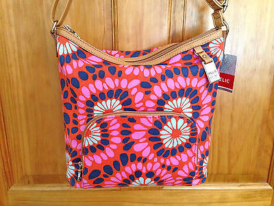 Nwt Relic By Fossil Bright Multi Phoebe Crossbody Shoulder Bag Handbag New
