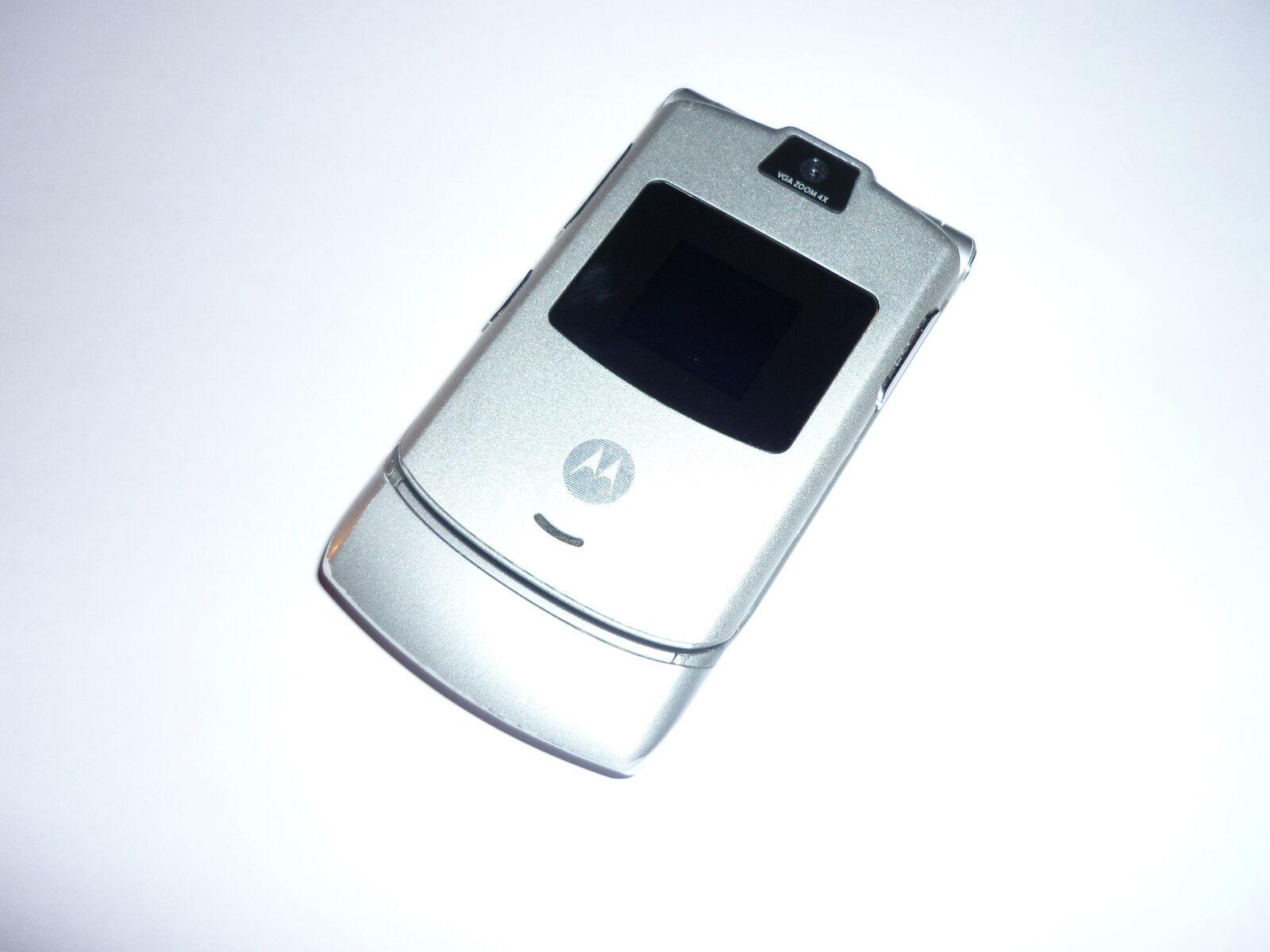 Motorola Razr V3 TOP Zustand Simlockfrei 12 Monate Gewährleistung DHL Versand