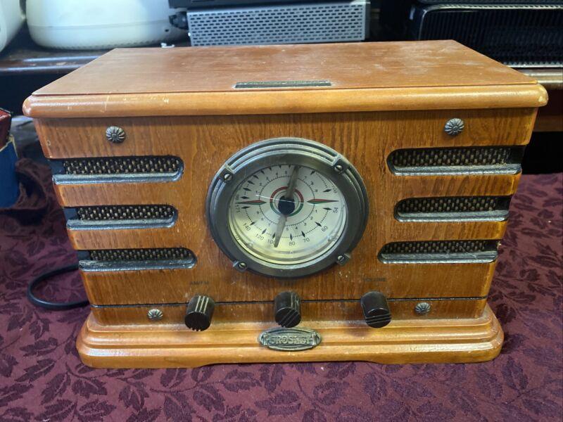 Crosley Limited Edition Vintage CR19 Metro AM/FM Radio Cassette Player