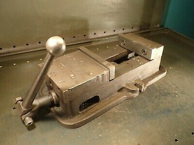 Kurt Anglock D60-1 Mill Milling Vise 6 Wide Jaws Opens 6-18 With Handle Usa