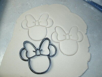 MINNIE MOUSE HEAD CARTOON DISNEY CHARACTER COOKIE CUTTER BAKING TOOL USA PR530S