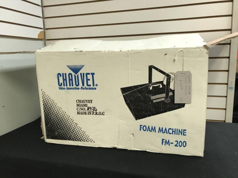 Chauvet FM-200 Foam Machine