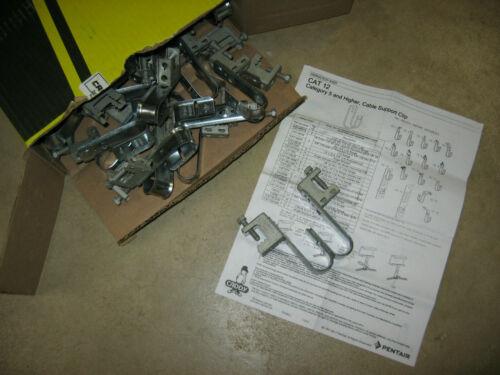 New 40 nVent Caddy Cabcat J-Hook BC Beam Clamp Hanger Support Cat5 / 6 Cat12BC