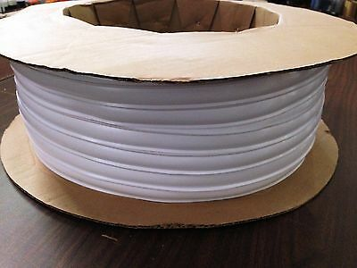 "1"" x 100 ft POLAR WHITE Vinyl Trim Molding Screw Cover RV Boat Camper Trailer"