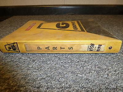 Grove Rt518 Rough Terrain Hydraulic Mobile Crane Parts Catalog Manual Book