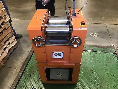 2000 Year Model F.b. Lehmann 3 Three Roll Mill Wdl