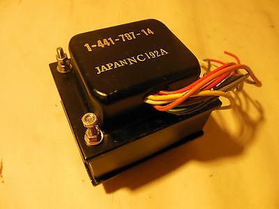 Vintage Nos 1-441-797-14 Japan Nc192a 60hz Power Transformer 10 Wire