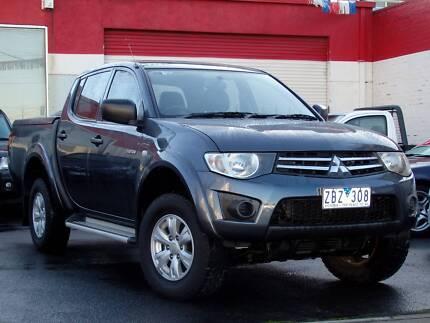 2009 Mitsubishi Triton GL-R DualCab ** AUTO ** $12,990 DRIVE AWAY Footscray Maribyrnong Area Preview